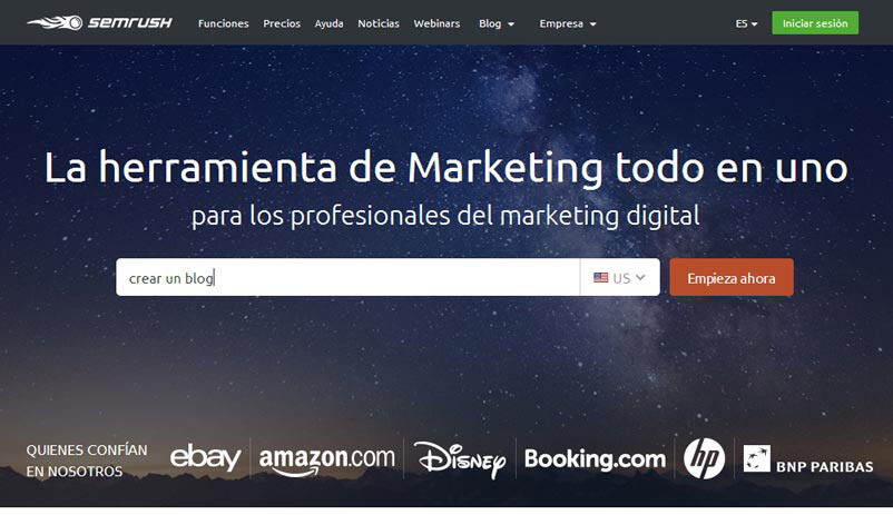 analisis semrush
