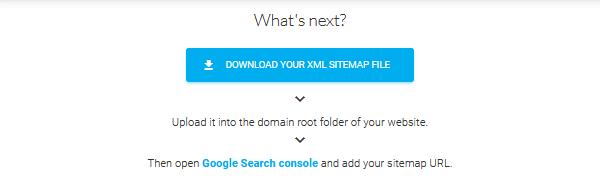 descargar sitemap xml
