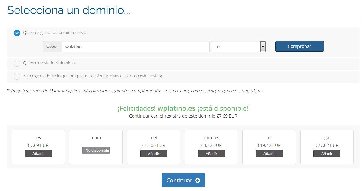 comprar hosting 2