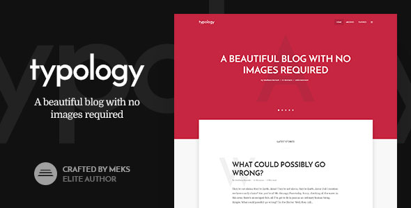tema wordpress typology