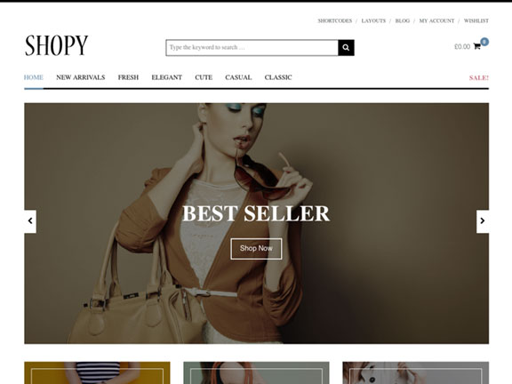 mejor tema para wordpress shopy